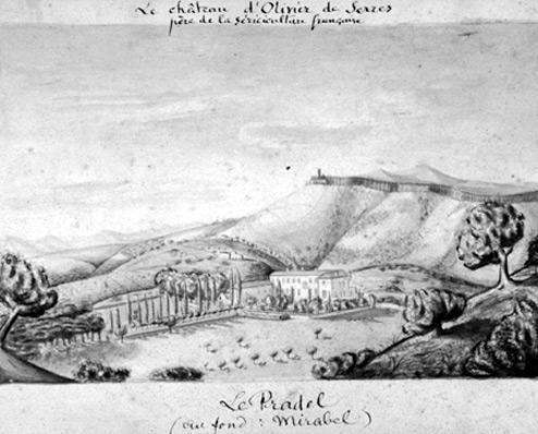 Château de Pradel d'Olivier de Serres (07)