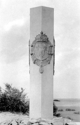Colonne érigée près de Jacksonville (Floride)