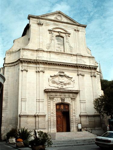 Nîmes, le grand temple, ancienne église (30)