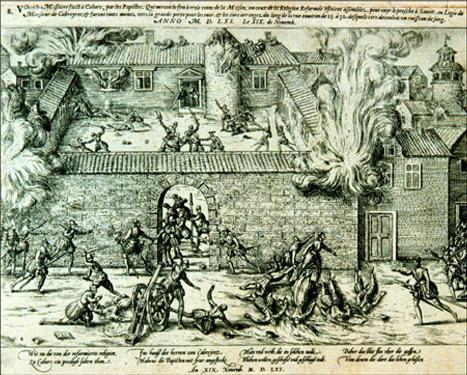 Massacre at Cahors en Quercy (November 19, 1561)