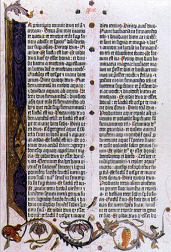 Bible de Gutenberg à 36 lignes