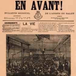 En Avant, Bulletin de l'Armée du Salut, publication de la Société évangélique de Genève, 1882