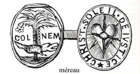 Méreau utilisé à Nîmes (XVII<sup>e</sup> siècle)