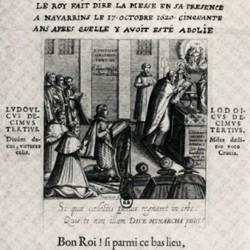 Rétablissement de la messe catholique en Béarn