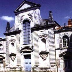 Temple de la Rochelle (17)  : ancienne église des Récollets