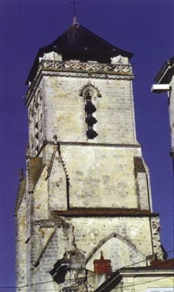 La Rochelle, Église de Saint-Barthélemy, clocher