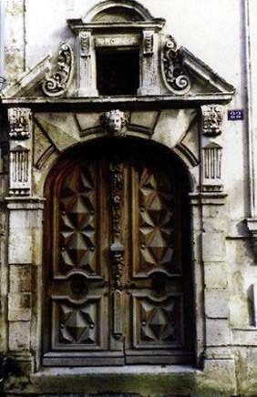 La Rochelle, ancienne maison Gargoulleau