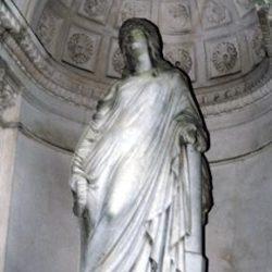 Cimetière protestant de Nîmes (Gard), sculpture de Pradier