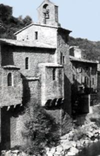 Temple de Pontaix (Drôme), ancienne église catholique