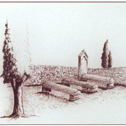 Le cimetière familial