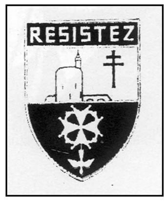 Insigne des Protestants de la France Libre