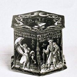 Colin Noylier, salière en émail limousin du XVIe siècle