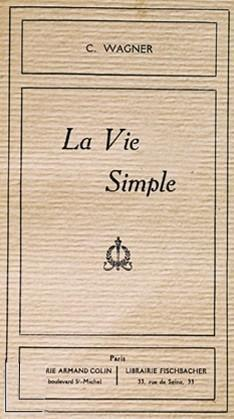 La Vie simple de Charles Wagner