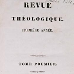 Revue Théologique, de la Faculté de théologie de Montauban, créée en 1841.