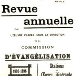 Revue annuelle d'Evangelisation, Mazamet, 1895
