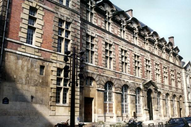 Paris, palais Abbatial de Saint-Germain-des-Prés (75)