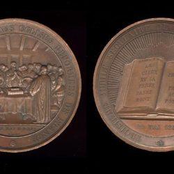 Médaille pour le tricentenaire du 1<sup>er</sup> synode des églises réformées de France (1559)