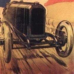 Automobile Peugeot (affiche)