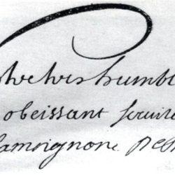 Signature de Basville