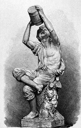 Statue du vigneron par Bartholdi