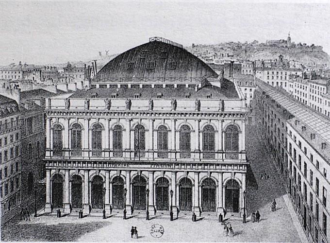 Paris, Opéra comique financé et construit par les Mallet