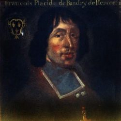 L'évêque de Peincourt : tableau anonyme
