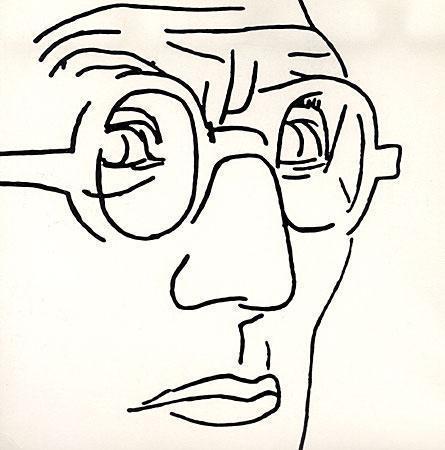 Charles Édouard Jeanneret dit Le Corbusier (1887-1965) autoportrait