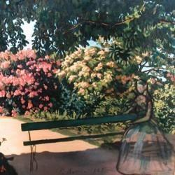 F. Bazille, les lauriers roses