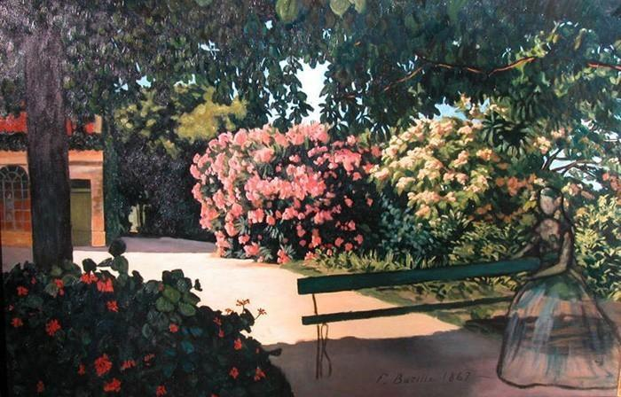 Les lauriers roses de Frédéric Bazille