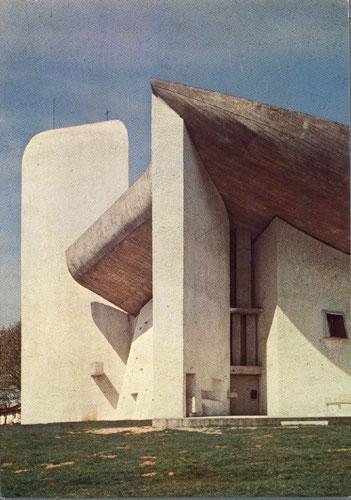 Le Corbusier, chapelle Notre Dame du Haut de Ronchamp (Haute Saône)