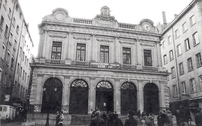 Lyon (69) le temple du Change
