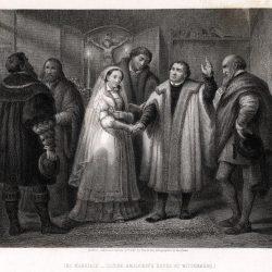 Mariage dans la maison d'Amsdorff (gravure de Nargeot d'après Labouchère)