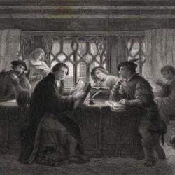 Luther, étude de la Bible