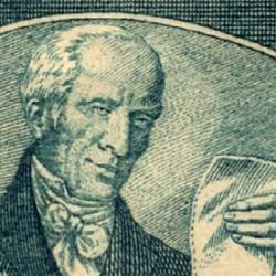Timbre représentant Benjamin Delessert (1773-1847)