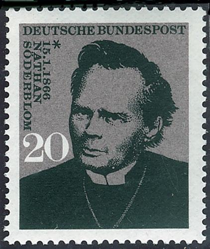 Timbre : Nathan Soderblom (1866-1931), unificateur des Églises chrétiennes