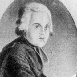 Carl Gambs (1759-1822), pasteur de l'Eglise suédoise de Paris