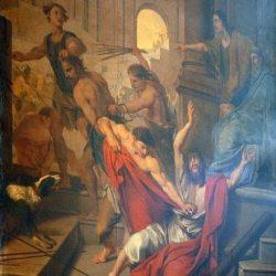 Louis Testelin, Flagellation de saint Paul et de Silas, 1655
