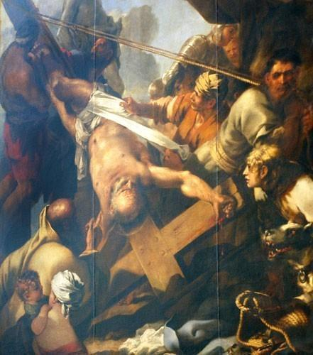 Sébastien Bourdon, crucifiement de Saint Pierre