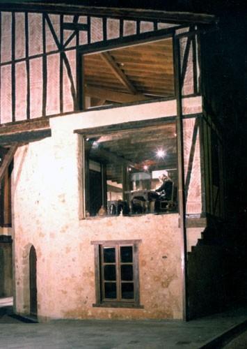 Vue de l'extérieur du musée Pierre Bayle, Le Carla, Ariège
