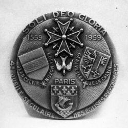 Médaille du quatrième centenaire des Églises réformées de France (1959)