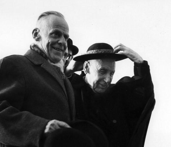 W.A. Visser't'hooft (1900-1985) et le cardinal Bea