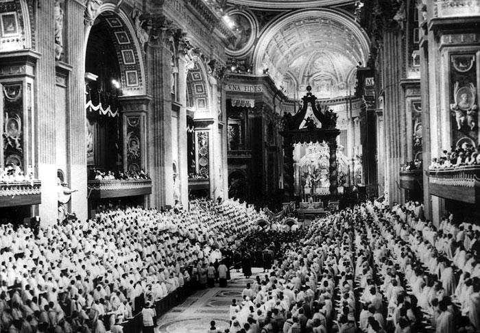 Rome, basilique Saint-Pierre, Concile de Vatican II