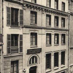 Maison de l'UCJF, rue de Naples, Paris