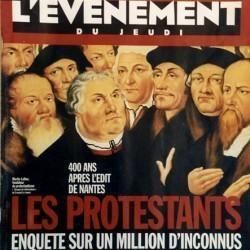 Couverture de l'Événement du Jeudi : les protestants, 1 million d'inconnus