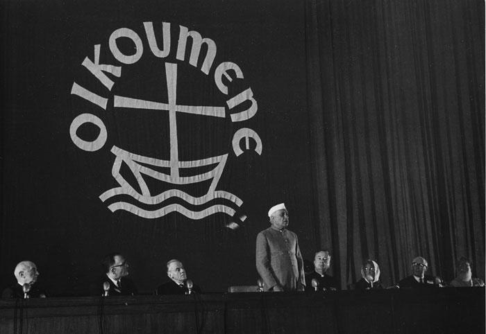 Réunion du Conseil Œcuménique des Églises à New Delhi en 1961