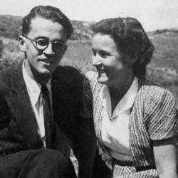 Francine Dumas (1917-1998) et son mari André Dumas