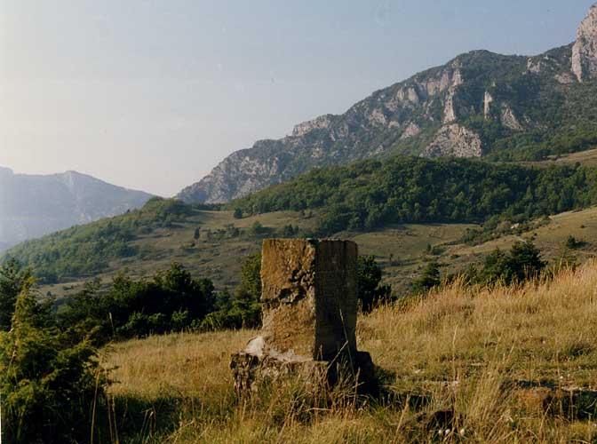 Monument en mémoire d'Isabeau Vincent, Saou, Drôme