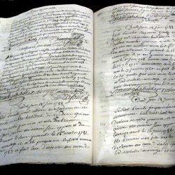 Enregistrement des mariages et naissances par les familles protestantes Après l'édit de Tolérance.