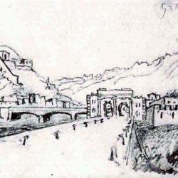 Grenoble, la Bastille et le Faubourg de Grenoble