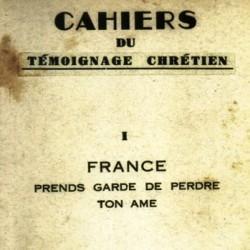 Cahiers du Témoignage Chrétien, 1941
